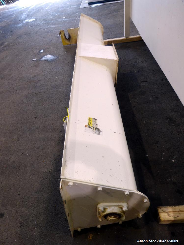 Used- Hayes & Stolz Ribbon Blender with Preload Hopper