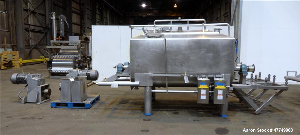 Used- APV Crepaco Double Ribbon Blender, Model HD-160DR.