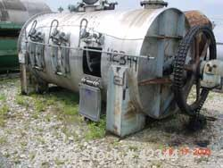 USED: Day cylindrical ribbon blender Model 72x12, 304 S/S. 327 cu ft total. 294.1 cu ft working capacity. 6'n dia x 12'n lon...