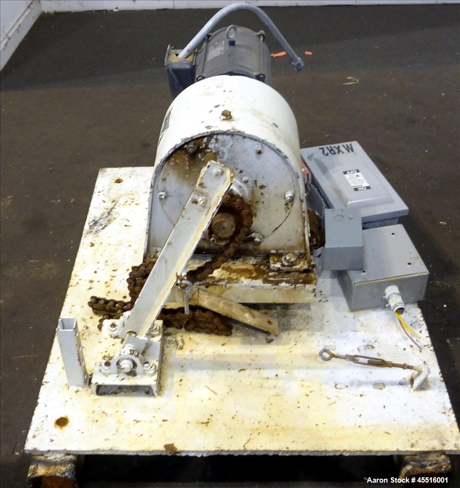 Used- Double Spiral Ribbon Blender, 36 Cubic Feet Working Capacity