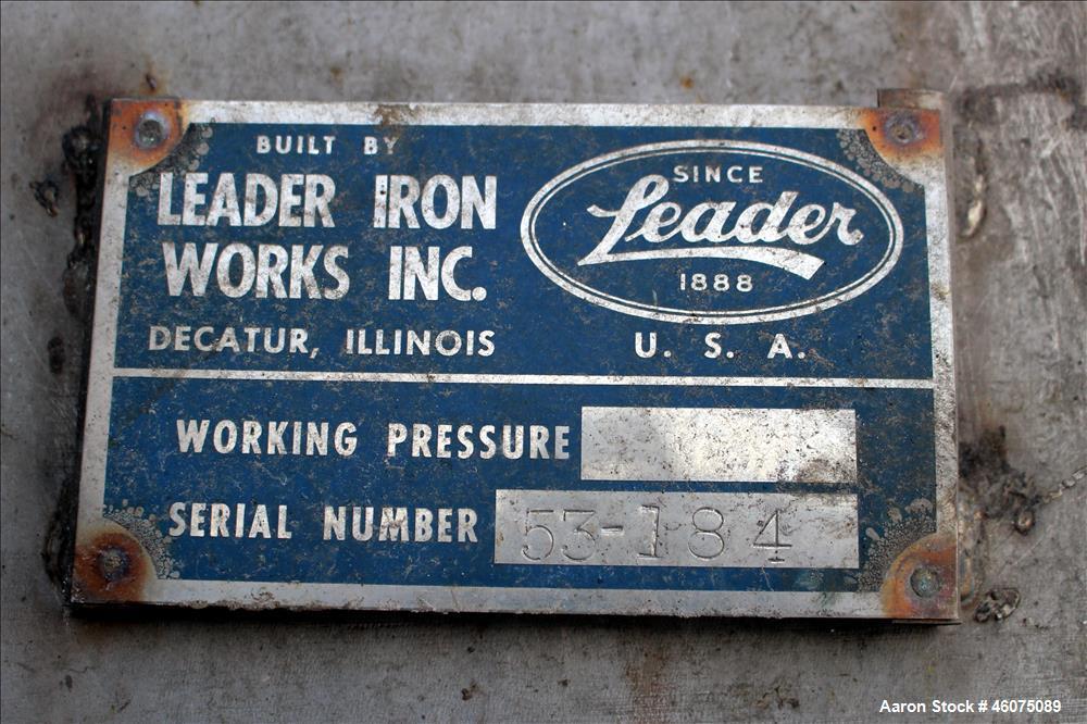 Used- Leader Iron Works Ribbon Blender