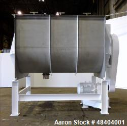 Used- Winbco Tank Company Double Spiral Ribbon Blender, Approximate 320 Cubic Fe