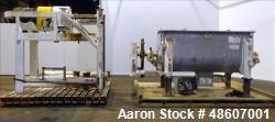 Used- American Process Ribbon Blender, 80 Cubic Feet Capacity, Model DRB-80.