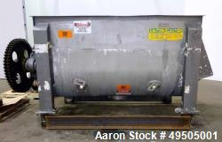 Used- American Process System Double Spiral Ribbon Blender, Model DRB 100, 304 Stainless Steel, 100 Cubic Feet Working Capac...