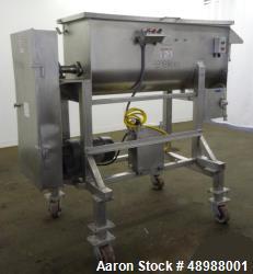 Used- Materials Transportation Company (MTC) Mixer, Model MTB-18-005-R.
