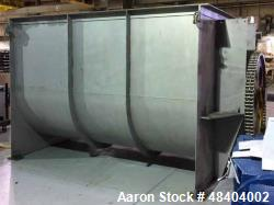 Used/Reconditioned- Winbco Tank Company Double Spiral Ribbon Blender, Approximat