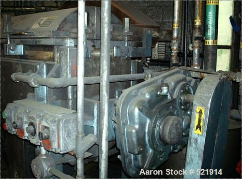 USED: Paul O Abbe dryer, model HM5V, year 1998. Vessel V/0 psi @ 250 deg F. Jacket 14.7 psi @ 250 deg F. Motor 10 hp, contin...