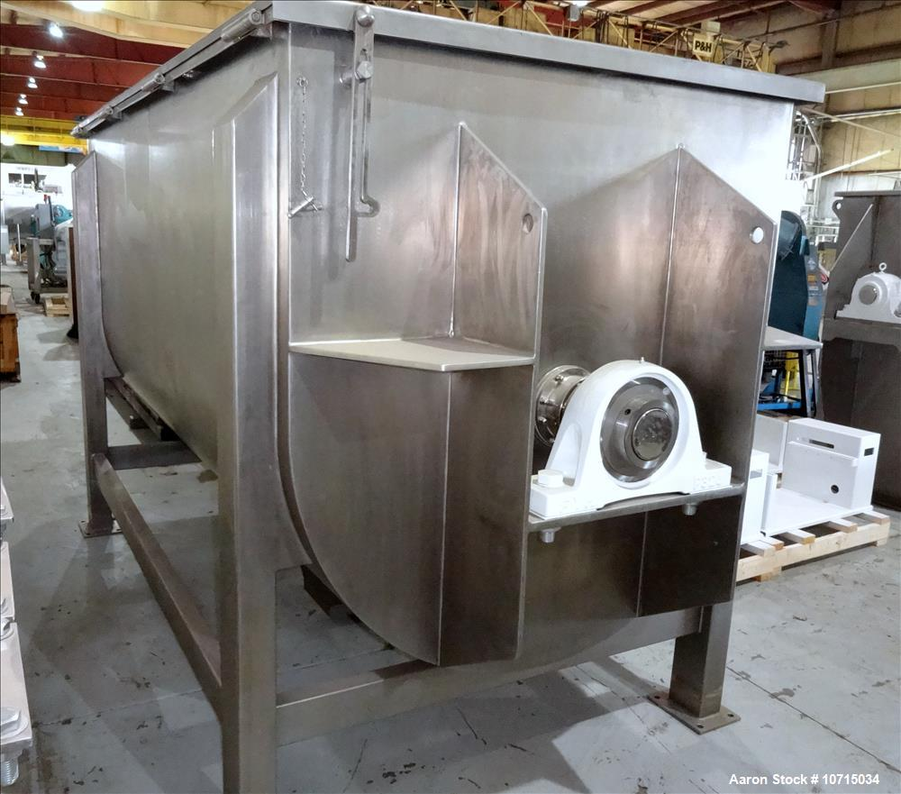NEW In-Stock Paul O. Abbe Model IMB-200 Cubic Foot Ribbon Mixer.