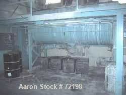 """USED: Readco ribbon blender, 144 cubic foot working capacity, carbon steel. 44"""" wide x 144"""" long jacketed trough. Double rib..."""