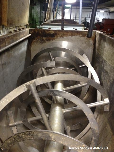 Used- Robinson Manufacturing Ribbon Blender