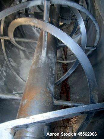 Used- Stainless Steel Strong Scott Ribbon Blender, 110 Cubic Feet
