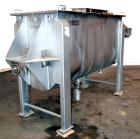 Used- American Process Heavy Duty Double Spiral Ribbon Blender, Model DRB-40.  40 Cubic feet working capacity, 304 stainless...