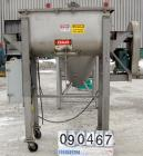 USED: American Process double spiral ribbon blender, model DRB-11, 11 cubic feet working capacity, 304 stainless steel. Non-...
