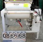 USED- Estrin Manufacturing Single Ribbon Type Blender, Model CM2, 5 Cubic Foot Working Capacity, Carbon Steel. Non-jacketed ...