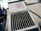Used- Hayes & Stolz Ribbon Blender, 128 Cubic Feet, Carbon Steel. Approximately 58