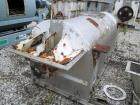 Used- Stainless SteelJ.H. Day Double Spiral Ribbon Blender, model G, 62.5 cubic feet working capacity (69 total)