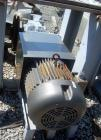 Used- Stainless Steel J.H. Day Double Spiral Ribbon Blender, 100 cubic feet working capacity (115 total)