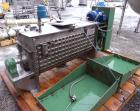 Used- J.H. Day Paddle Mixer, 10.8 cubic feet working capacity, 12.5 total, 304 stainless steel. Dimple jacketed trough 21