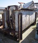 Used- Ribbon Blender, 143 Cubic Feet, 304 Stainless Steel. Non-jacketed trough 44