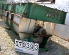USED- Sprout Waldron Ribbon/Paddle Blender, 150 Cubic Foot Working Capacity, 304 Stainless Steel. Non-jacketed trough 48