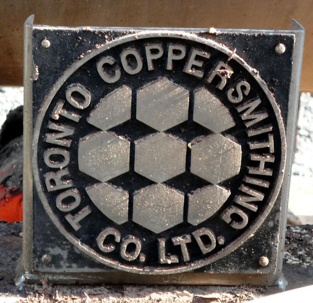 Used- Stainless Steel Toronto Coppersmithing Heavy Duty Ribbon Blender, approxim
