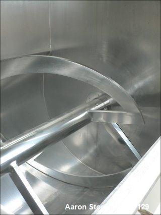 Used- Stainless Steel Werner Pfleiderer Ribbon Blender