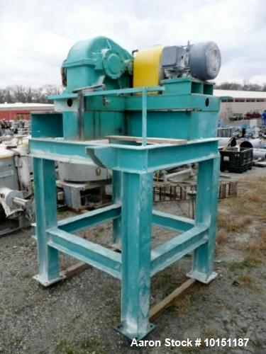 Used- Young Industries Double Spiral Ribbon Blender