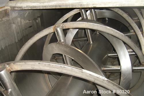 Used: Stainless Steel Sprout Waldron Double Spiral Ribbon Blender, Model B-79, 7