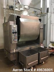 Used-Shaffer Horizontal Bar Mixer, Model 10, 1000 LB Capacity Dough Mixer.