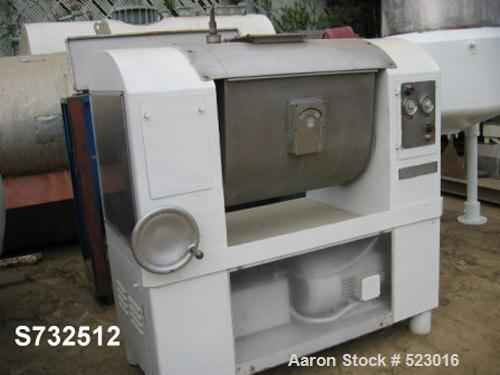 "USED: Champion single dough mixer, stainless steel contact partswith 30"" x 33"" x 26"" mix chamber. Unit has manual tilt. Unit..."