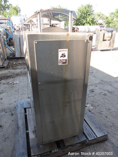 Used- Stainless Steel Magna High Speed Single Arm Mixer, Model 50H-4C1, approxim