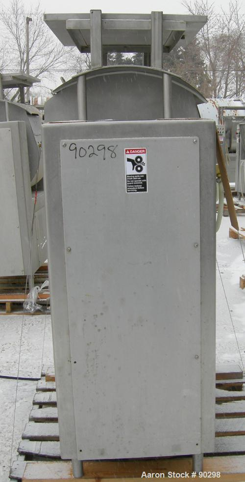 Used- Stainless Steel Magna High Speed Single Arm Mixer, Model 50H-4C1, approximate 10 gallon/50 pound working capacity