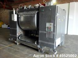 Used-Vicars Single Arm Mixer, 2400 lbs., Stainless steel internals. Outer frame is Carbon steel. 41.5 cuft working capacity,...
