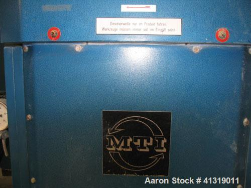 Used-MTI Paste Mixer, stainless steel, capacity 87 gallons (330 liters)