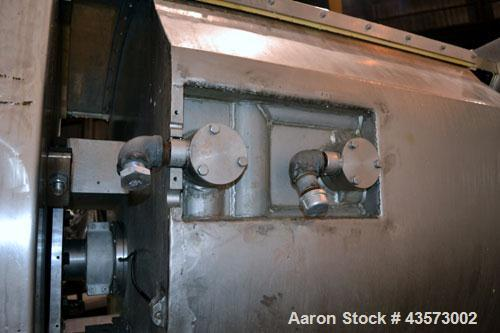 Used- Stainless Steel Oshikiri Model HM1000FJ Horizontal Mixer