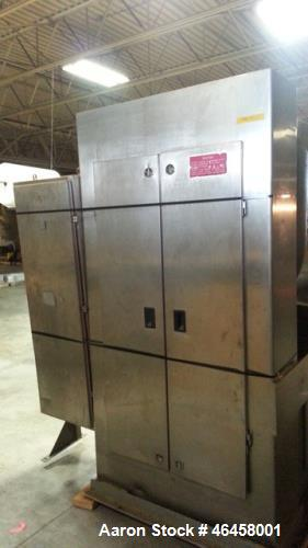 Used- Oshikiri Model HM1000FJ Horizontal Mixer. Machine is of 304 stainless steel construction. Approximately a 1000 pound (...