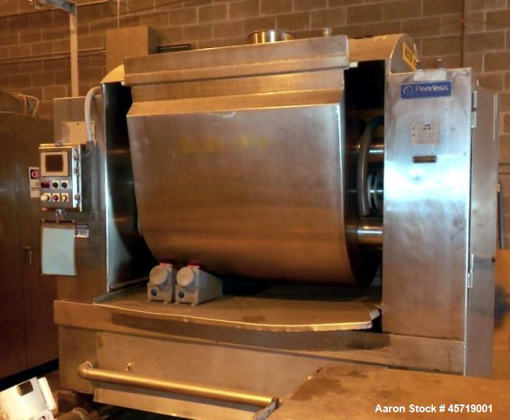 Used-Peerless Mixer, Model 9SDTWT, Stainless Steel.