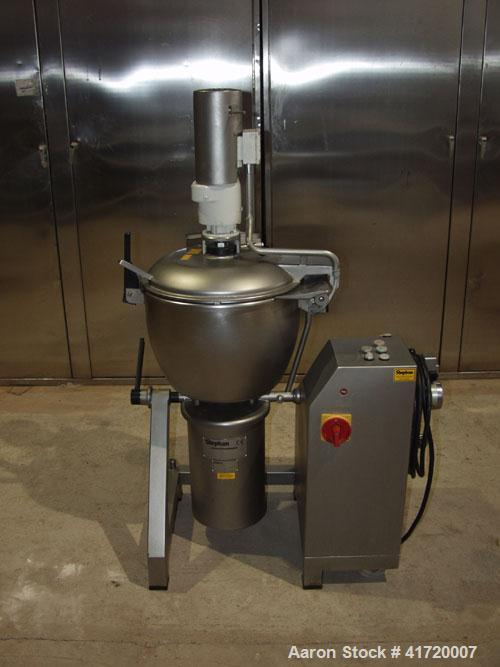 Used-Stephan UM 60 E/S Universal Mixer/Cutter. Stainless steel, capacity 15.9 gallons (60 liters), mixing speeds 1500/3000 r...