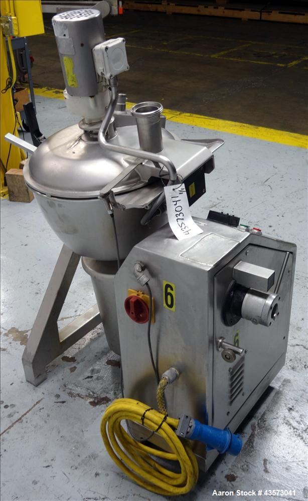 Used- Stephan Model VCM44E-S Vertical Cutter/Mixer. Stainless steel, capacity 12
