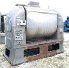 USED: Readco high speed dough mixer, model 16 dreadnought, 304 stainless steel. 1600 pound batch size. Glycol jacketed bowl ...