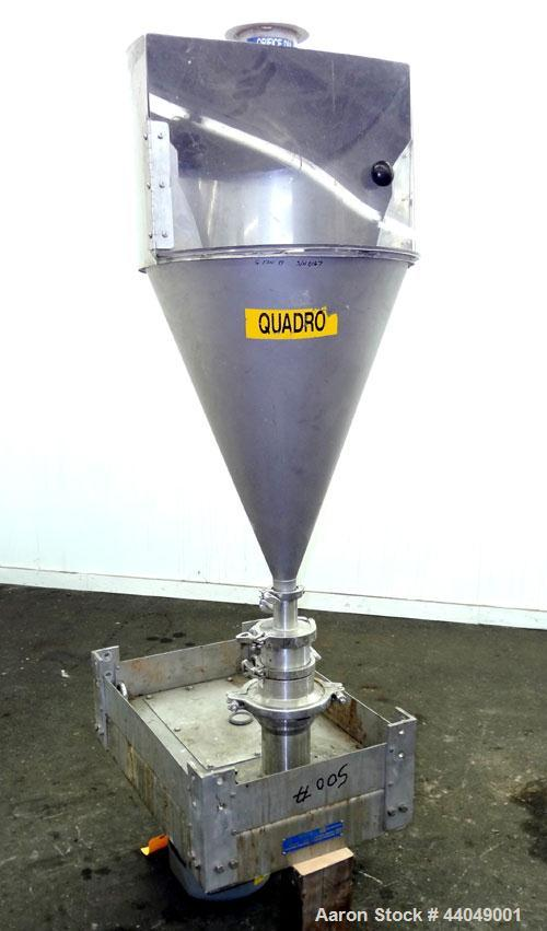 Used- Stainless Steel Quadro Ytron ZC High Speed Disperser, Model ZC1