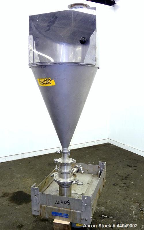 Used- Stainless Steel Quadro Ytron ZC High Speed Disperser, Model ZC1