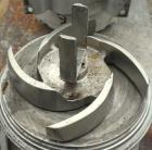 Used- Tri-Clover Tri-Blender, Model F4329, 316 stainless steel. Approximate 9 1/2'' diameter impeller, 4