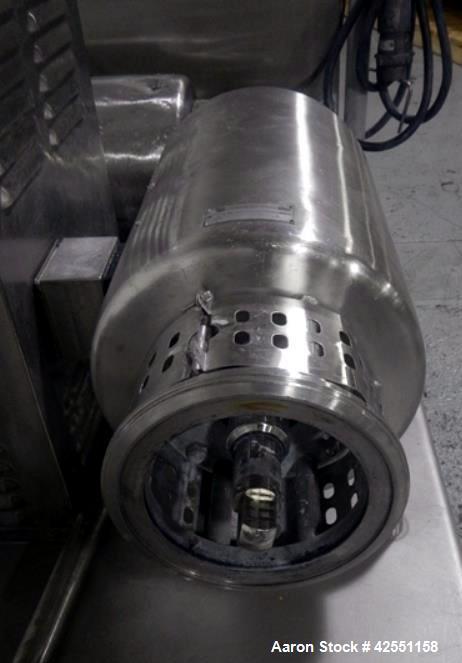 Used- Stainless Steel Tri Clover Tri Blender, model F3218