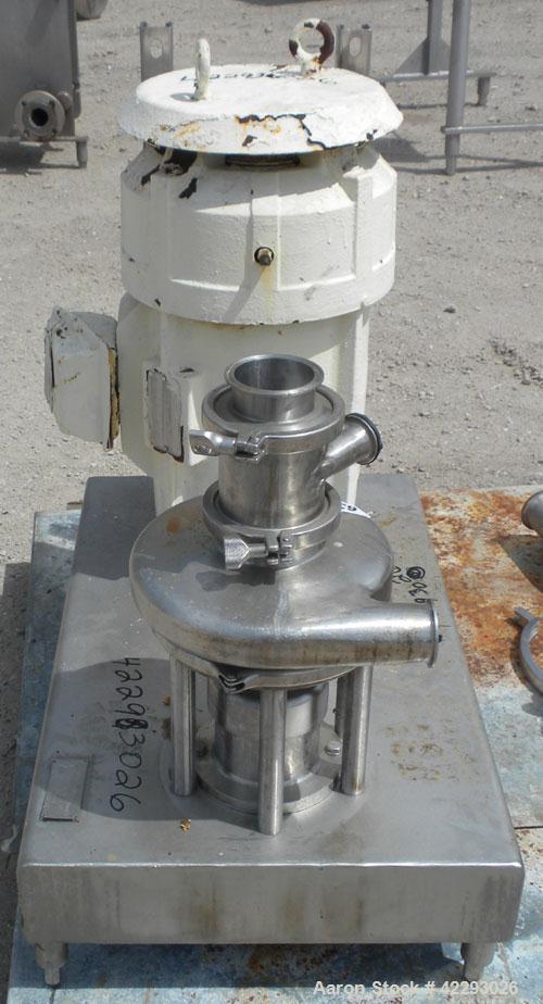 Used- Stainless Steel Tri-Clover Tri-Blender, model F3218MD-B40-S