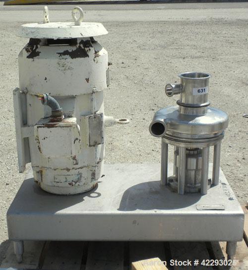 Used- Stainless Steel Tri-Clover Tri-Blender, model F3218MD-BBVS