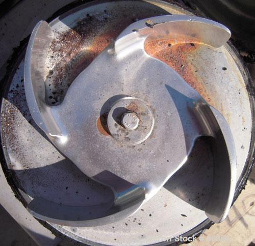 "Used- Tri-Clover Tri-Blender, Model F4329, 316 Stainless Steel. Approximate 9 1/2"" diameter impeller, 4"" tri-clamp powder in..."