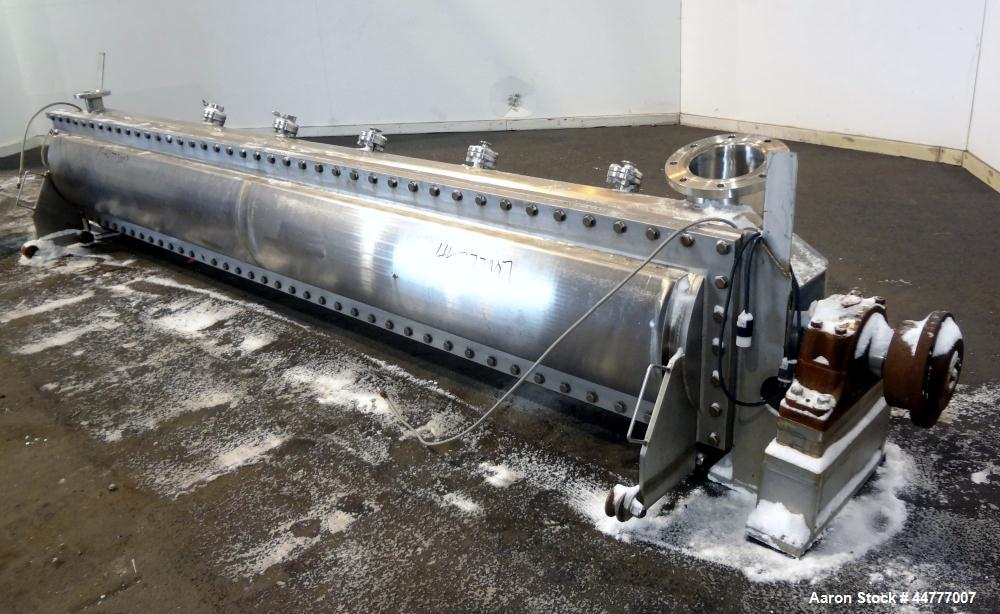 Used- Stainless Steel Bepex Turbulizer, Model TCS-20-13
