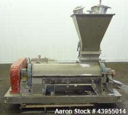 Used- Stainless Steel Drais Annular Zone Mixer, Type K-TT80HDD