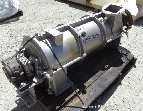"Used- Strong Scott Turbulizer, Model TC14, 316 Stainless Steel. 14"" Diameter x 42"" long non-jacketed clamshell style chamber..."